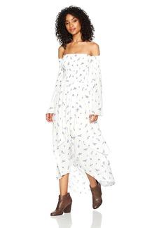 Lucy Love Women's Vineyard Long-Sleeve Maxi Dress