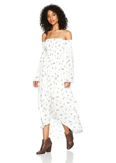 Lucy Love Women's Vineyard Long-Sleeve Maxi Dress