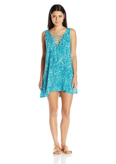 Lucy Love Women's West Indies Printed Sleeveless Dress