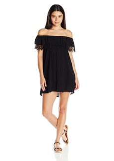 Lucy Love Women's Whisper in My Ear Off Shoulder Dress
