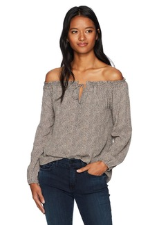 Lucy Love Women's with Love Off-The-Shoulder Top