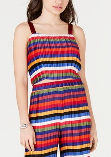 Lucy Paris Aurora Rainbow Crop Top