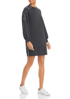 Lucy Paris Faux Pearl Embellished Dress