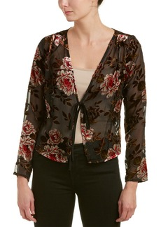 Lucy Paris Floral Burnout Top