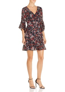 Lucy Paris Floral Print Wrap Dress - 100% Exclusive