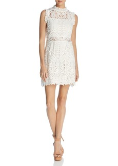 Lucy Paris Gwen Ruffled Lace Dress - 100% Exclusive