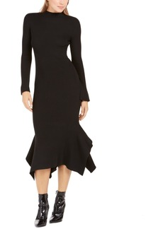 Lucy Paris Handkerchief-Hem Sweater Dress