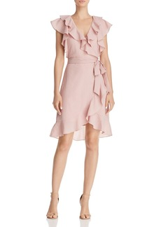 Lucy Paris Hermosa Ruffled Faux-Wrap Dress - 100% Exclusive