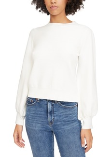Lucy Paris Julie Blouson-Sleeve Sweater
