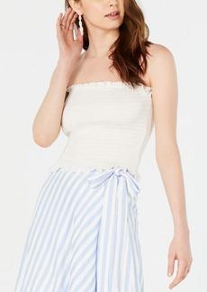 Lucy Paris Mimi Smocked Strapless Top