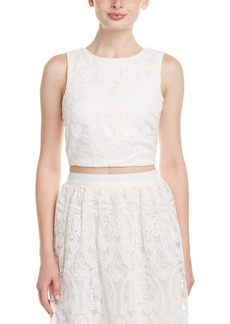 Lucy Paris Reese Lace Crop Top