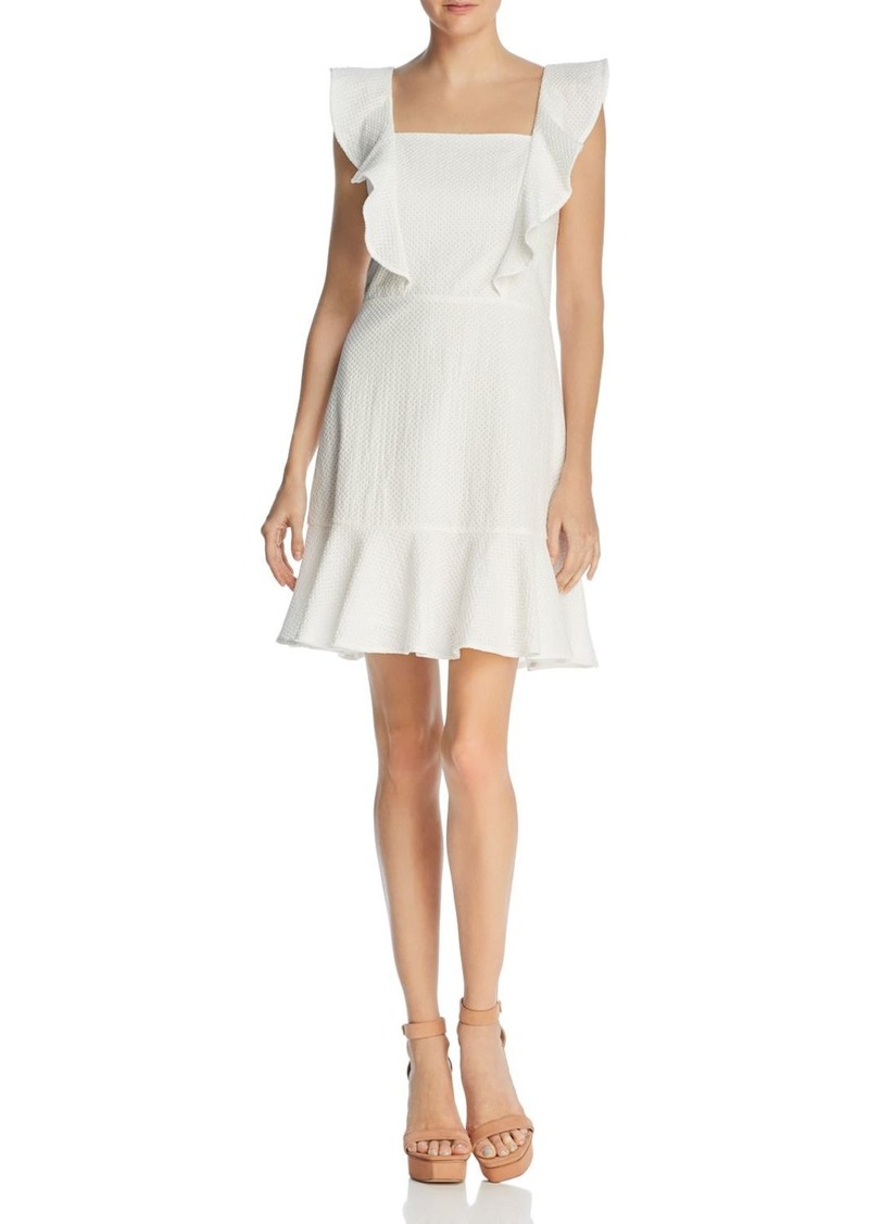 Lucy Paris Ruffled Textured Dress - 100% Exclusive