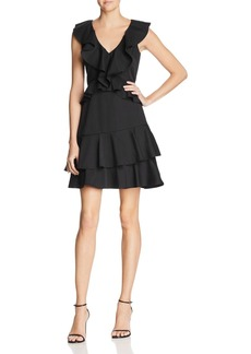 Lucy Paris Sasha Ruffled Fit-and-Flare Dress - 100% Exclusive