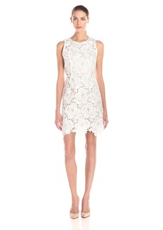 Lucy Paris Women's Floral Embroidered Covergirl Dress