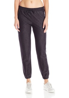 Lucy Women's Do Everything Cuffed Knit Pant Black