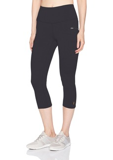 Lucy Women's Lighten up Zip Capri Legging  L