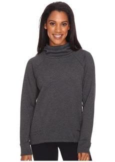 Lucy Women's Lux Fleece Pullover Black Heather M