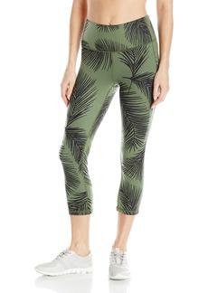 Lucy Women's Perfect Core Print Capri Legging  XS