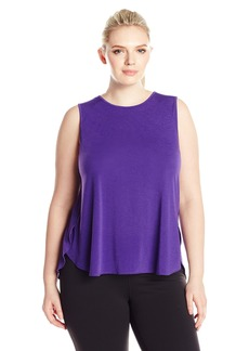 Lucy Women's Plus Size Dream on Muscle Tank