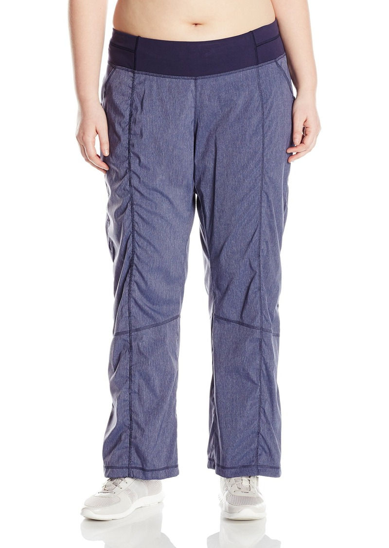 4ceda52927e1b Lucy Lucy Women s Plus Size Get Going Pant Navy Heather Now  76.64