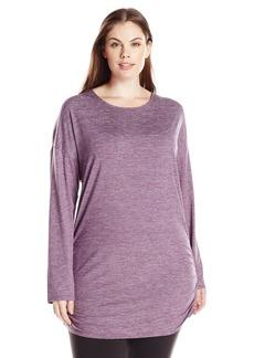 Lucy Women's Plus Size Manifest Short Sleeve Tunic