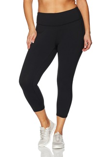 Lucy Women's Plus Size Perfect Core Print Capri Legging