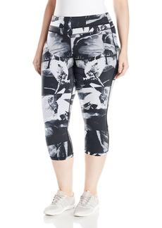 Lucy Women's Plus Size Studio Hatha Capri Legging  1X