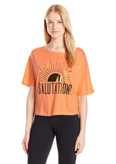 Lucy Women's Salutations Graphic Tee Melon Orange S