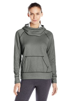 Lucy Women's Stronger Everyday Pullover Black White Heather M