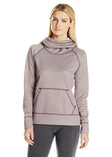 Lucy Women's Stronger Everyday Pullover BlackBerry/Lucy White Heather L