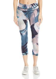 Lucy Women's Studio Hatha Print Capri Legging  XS