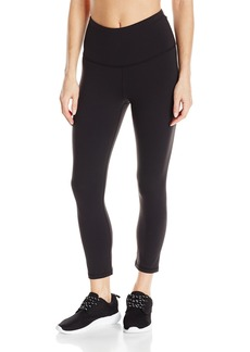 Lucy Women's Studio High Rise Hatha Capri Legging  L