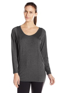 Lucy Women's Take a Pause Tunic Black Heather