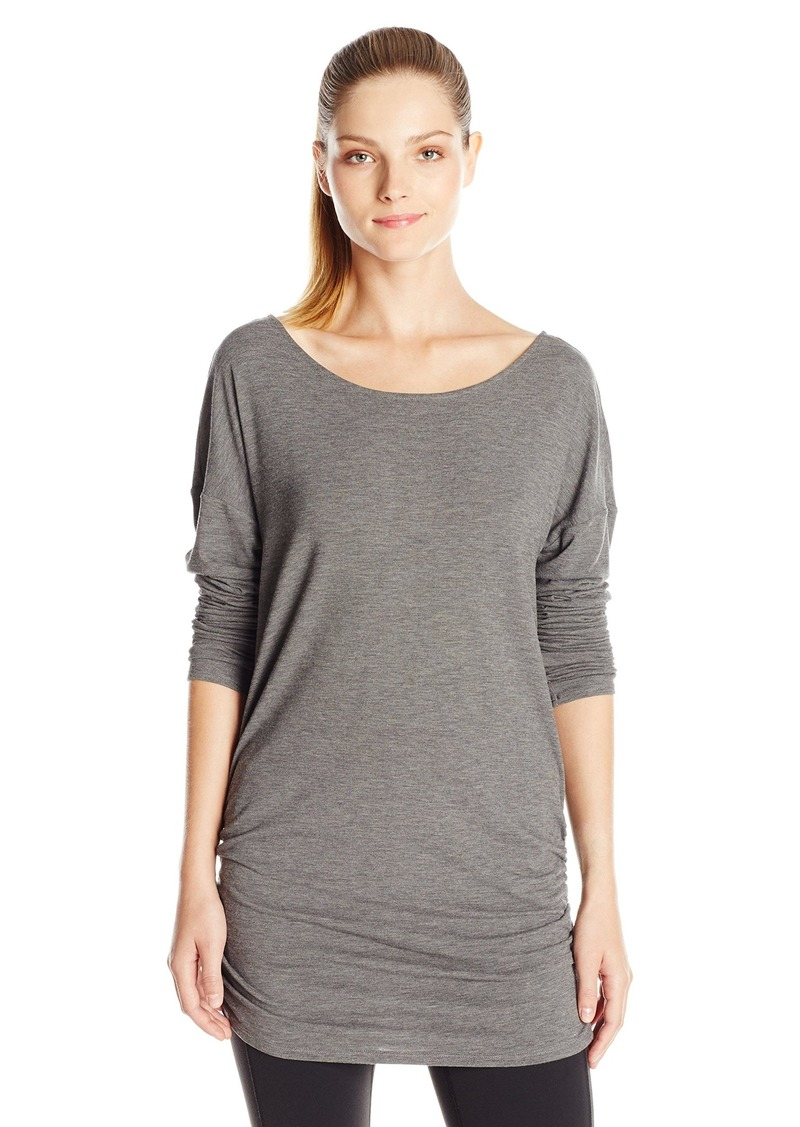 Lucy lucy women 39 s yoga girl long sleeve m casual shirts Yoga shirts with sleeves