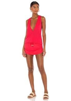 Luli Fama Cosita Buena T Back Mini Dress