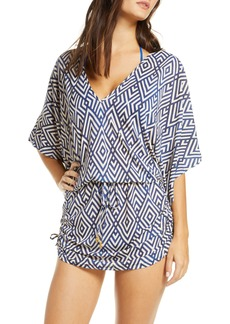 Luli Fama Mesmerized Cabana Cover-Up Dress