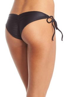 Luli Fama Wavy Brazilian Side Tie Bikini Bottoms