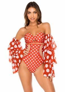 Luli Fama Women's Swimwear -ole red LGE