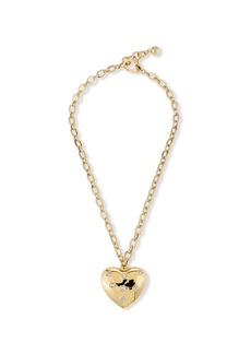 Lulu Frost Belleza Heart Charm Necklace