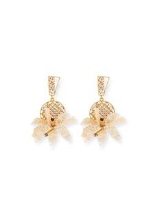 Lulu Frost Bora Flower Statement Earrings