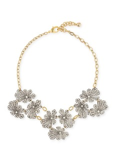 Lulu Frost Camellia Crystal Flower Necklace