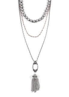 Lulu Frost Lillet Long Layered Tassel Necklace