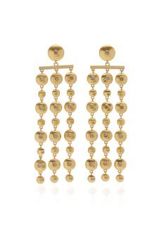 Lulu Frost Sundance Gold-Plated And Mother-Of-Pearl Earrings