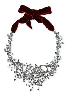 Lulu Frost Nina Crystal Collage Necklace