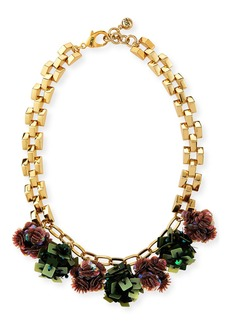 Lulu Frost Rumba Sequined Statement Necklace