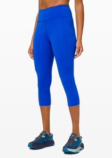 """Lululemon Fast and Free Crop II 19"""" *Non-Reflective"""