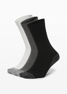 Lululemon Intent Crew Sock *3 Pack