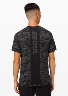 Lululemon Metal Vent Breathe Short Sleeve Shirt *Seoul