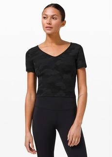 Lululemon Nulu™ Cropped Slim Yoga Short Sleeve