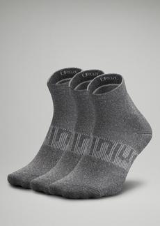 Lululemon Power Stride Ankle Sock 3 Pack